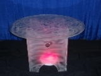 Where to rent LUCITE TABLE KIT, 48  ROUND in Kokomo IN