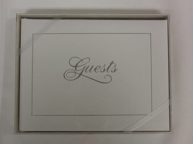 GUEST BOOK W/SILVER Sales Kokomo IN, Where to Buy GUEST BOOK W
