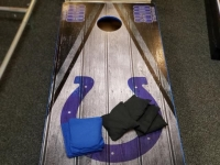Where to rent CORN HOLE W 8 BEAN BAGS-COLTS in Kokomo IN