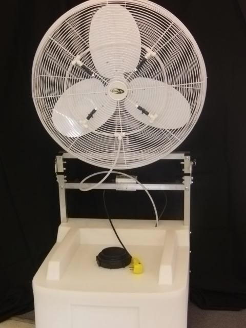 Where to find COOL MIST FAN 30  15 GAL.  SALE ONLY in Kokomo