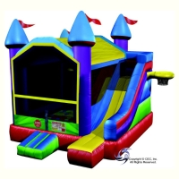 Where to rent WACKY MOONWALK W SLIDE in Kokomo IN