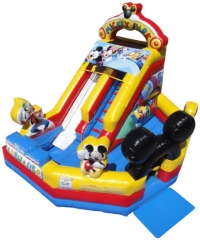 Where to rent MICKEY MOUSE MOONWALK W SLIDE in Kokomo IN
