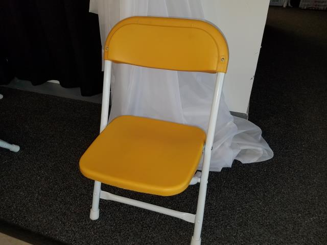 Where to find CHAIR, KIDS FOLDING YELLOW in Kokomo