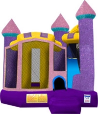 Where to rent DAZZLING CASTLE MOONWALK W  SLIDE in Kokomo IN