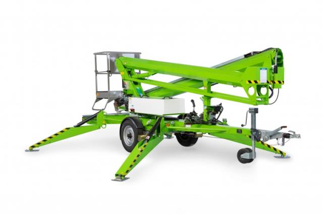 Aerial Lift Towable 56 Foot Work Height Rentals Kokomo In
