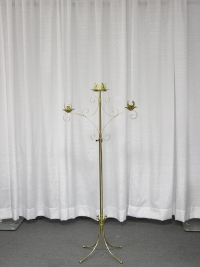 Where to rent UNITY CANDLE HOLDER, FREE STANDING BRASS in Kokomo IN