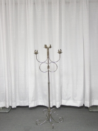 Where to rent UNITY CANDLE HOLDER, FREE STANDING SILVE in Kokomo IN