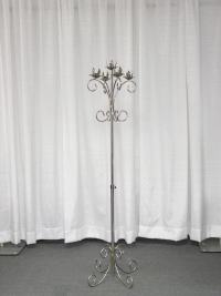Where to rent TREE CANDLEABRA, 5-LITE SILVER in Kokomo IN