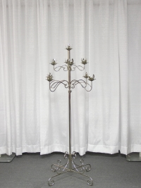 Where to rent TREE CANDLEABRA, 9-LITE SILVER in Kokomo IN