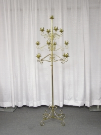Where to rent TREE CANDLEABRA, 13-LITE BRASS in Kokomo IN