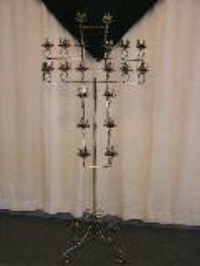 Where to rent CROSS CANDLEABRA, 20-LITE SILVER in Kokomo IN