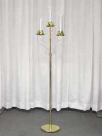 Where to rent PEW CANDLEABRA W BASE STAND,BRASS in Kokomo IN