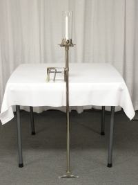 Where to rent PEW CANDLEABRA, SILVER in Kokomo IN
