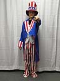 Where to rent UNCLE SAM II COSTUME in Kokomo IN