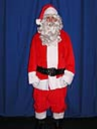 Where to rent SANTA CLAUS COSTUME  L 42-48 in Kokomo IN