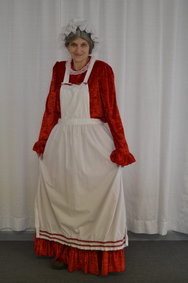 Mrs Claus Old Fashioned Costume Rentals Kokomo In Where