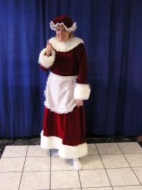 Where to rent MRS. CLAUSE W  FUR TRIM COSTUME in Kokomo IN