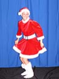 Where to rent MRS. CLAUS SHORT VELVET COSTUME in Kokomo IN