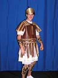 Where to rent ROMAN SOLDIER COSTUME-BROWN in Kokomo IN
