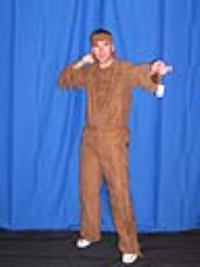 Where to rent INDIAN BRAVE-BROWN ORANGE TRIM COSTUME in Kokomo IN