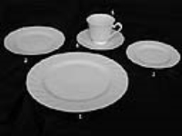 Where to rent DINNER PLATE, 10-1 4  WHITE CHINA in Kokomo IN