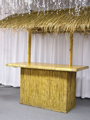 Where to find HAWAIIN TIKI BAR W COVERED GRASS TOP in Kokomo