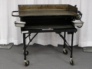 Where to find GRIDDLE, 36  W CART--FOR SALE ONLY in Kokomo