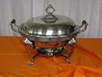 Where to rent CHAFING DISH, 9qt ROUND, STERNO EXTRA in Kokomo IN