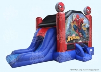 Where to rent SPIDERMAN W SLIDE MOONWALK in Kokomo IN