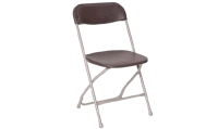 Where to rent CHAIR, BROWN SAMSONITE in Kokomo IN