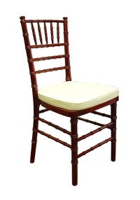 Where to rent CHAIR, MAHOGANY CHIVARI in Kokomo IN