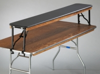 Where to rent TABLE, 6  RISER BAR TOP, 14 W X 14 H in Kokomo IN