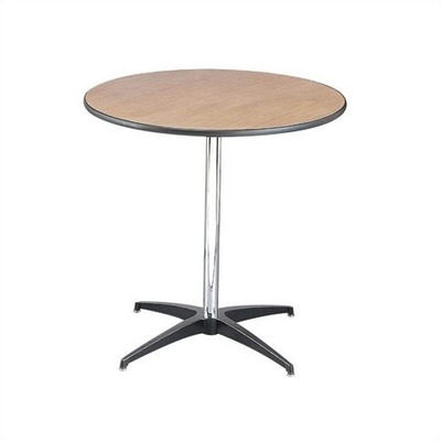 Where to find TABLE, 30 X30H  ROUND, 1 PIECE PEDESTAL in Kokomo