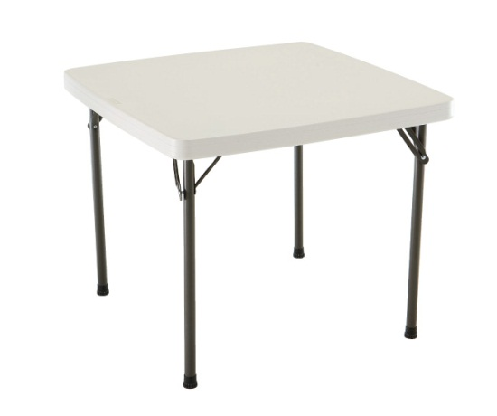 Where to find CARD TABLE, 37 X37  PLASTIC TOP in Kokomo