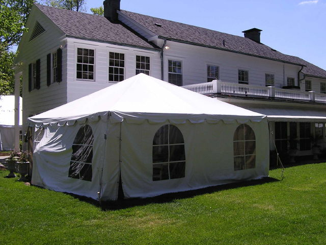 Where to find 20X20  WHITE FRAME TENT-INSTALLED in Kokomo
