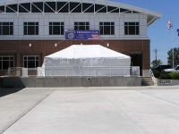 Where to rent 20X30  WHITE FRAME TENT-INSTALLED in Kokomo IN
