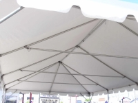 Where to rent 20X40  WHITE FRAME TENT-INSTALLED in Kokomo IN