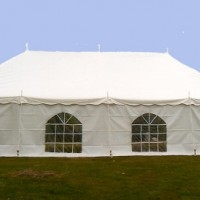 Where to rent TENT SIDES W CATHEDRAL WINDOWS-20  WHITE in Kokomo IN