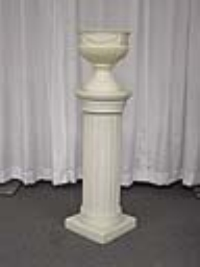 Where to rent LIGHTED COLUMN, W FERN POT,GRANITE in Kokomo IN