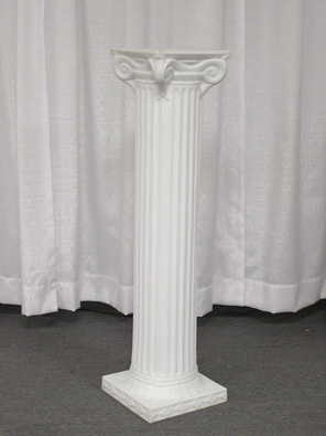 Where to find GRECIAN COLUMN, 40  WHITE in Kokomo