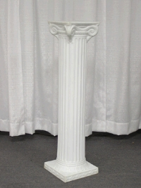 Where to rent GRECIAN COLUMN, 40  OFF WHITE in Kokomo IN