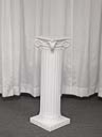 Where to rent GRECIAN COLUMN, 32  WHITE in Kokomo IN