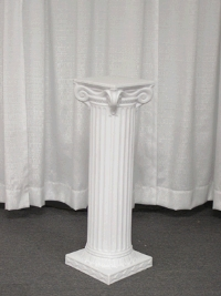 Where to rent GRECIAN COLUMN, 32  OFF WHITE in Kokomo IN