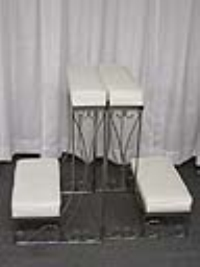 Where to rent KNEELING BENCH, SINGLE WIDE, SILVER  PR in Kokomo IN