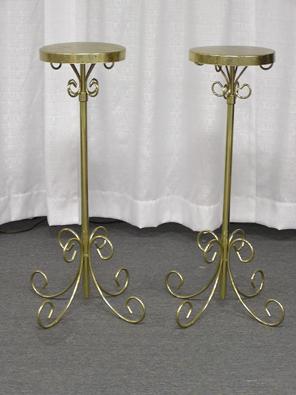 Flower Stands Adjustable Brass Pr Rentals Kokomo In Where