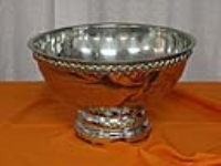 Where to rent PUNCH BOWL W LADLE, SILVER in Kokomo IN