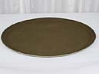 Where to rent SERVING TRAY W SUREGRIP BROWN 27 OVAL in Kokomo IN