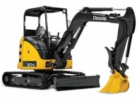 Where to rent EXCAVATOR, MINI - JOHN DEERE 27D in Kokomo IN