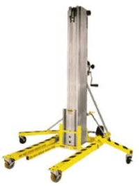 Where to rent MATERIAL LIFT - 18FT, 650LB CAP in Kokomo IN