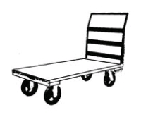 Where to rent FLAT DOLLY - 30 X60 in Kokomo IN